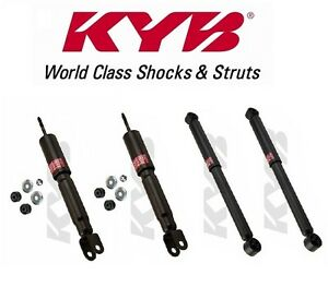For 4 Gr 2 Shock Absorbers Kyb Excel G For Chevrolet Suburban 1500 2wd 2000 2006