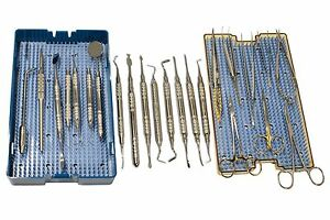 Dental Periodontal Tissue Grafting Micro surgery Surgical Kit 28 Pc