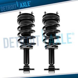 Set 2 Complete Quick Front Strut Assembly W coil Spring Chevy Non Electronic