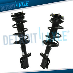 2 Front Strut Coil Spring For 2003 2004 2005 2006 2007 2008 Toyota Corolla 1 8l