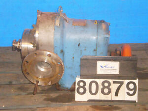 Waukesha 200 4 Positive Displacement Pump In 316ss 300 Gpm 200 Max Psi