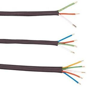 1000 18 4 Pvc Thermostat Cable Heat Resistant Pvc Insulation Wire