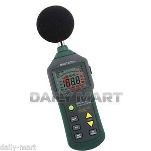 Mastech Ms6701 Auto Range Digital Sound Level Meter Decibel Tester