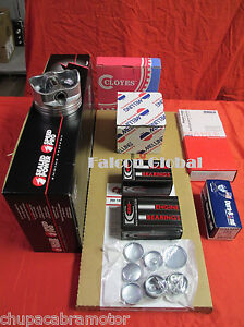 Dodge 360 5 9l Magnum Engine Kit Pistons rings timing gaskets bearings 1993 97