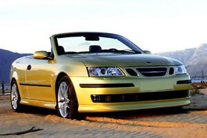 Saab 9 3 93 Convertible Cabrio Body Kit Spoilers Aero Look