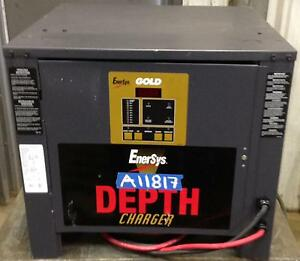 Used 24 Volt Enersys Gold Depth Charger 400 To 750 Ah Battery