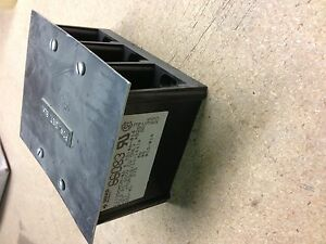 66083 Gould Shawmut Power Distribution Block With Cover