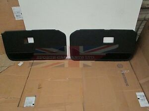 New Pair Of Door Panels For Mgb 1970 80 Deluxe With Carpet Bottoms Made In Uk