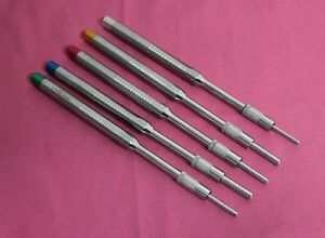 5 Sinus Osteotomes Offset Concave Tip Straight Implant Dental Instruments