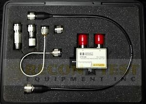 Agilent hp 87512b Transmission reflection Test Set Dc To 2 Ghz