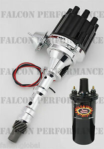 Pertronix Ignitor Ii 2 Billet Flame Thrower Distributor Coil Chevy 348 409