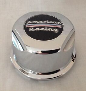 American Racing Plastic Snap In Chrome Center Cap 1307100