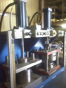 2 Presses For Stamped Parts 100 Ton Brand New Programmable Settings
