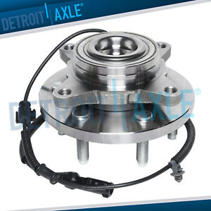 Front Wheel Bearing Hub Assembly For 2009 2010 Ford F 150 2wd W Abs 6 Bolt