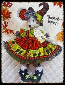 Primitive Halloween Boolola Mouse Pattern 475 Ginger Creek Crossing