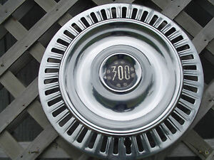 1955 1956 Chrysler Imperial 300 Hubcap Wheel Cover Center Cap Antique Vintage