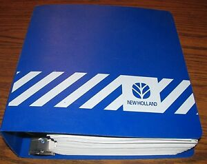 New Holland Tn65f Tn75f Tn90f Tractor Parts Catalog Manual 1998 Original Nh
