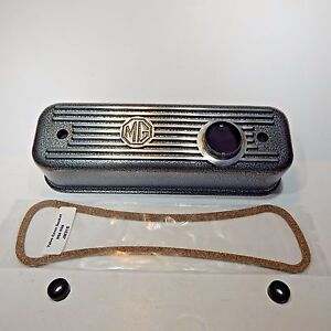 New Crackle Wrinkle Finish Alloy Valve Cover For Mga Mgb 1955 1980