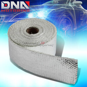15ft 180 L 2 W Exhaust Header Turbo Manifold Pipe Aluminum Heat Shield Wrap Tape
