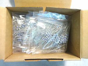 New Box Of 1000 Erg1sj470 Metal Oxide Film Resistor 1w 5 47 Ohm