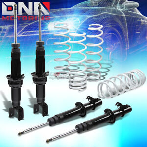 Dna For Civic integra Eg dc Gas Shocks Strut suspension White Lowering Springs