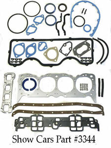 Fel Pro Fs 8007 Pt 3 64 63 62 61 Chevrolet 348 409 Engine Rebuild Gasket Set Kit