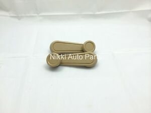 Set Of 2 Left Right Tan Window Crank Handle Lever For Toyota Pickup 1972 88