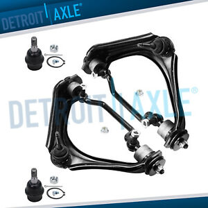 4pc Front Upper Control Arm Lower Ball Joint 2002 2003 2004 2005 Ford Explorer