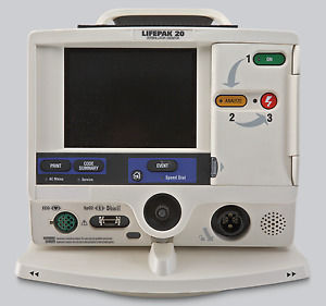 Physio Control Lifepak 20 Docking Station For Attaching Lp20 To Crash Cart