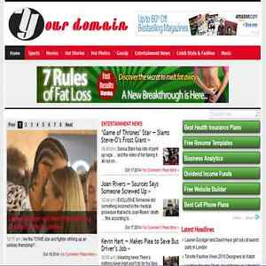100 Automated Celeb Hot News Website Celebrity Gossip News Wordpress Blog