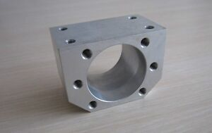 3pc Cnc Ball Nut Housing Bracket Mount Fit Rm2505 Rm2510 Ballscrew Flange Nut