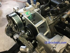 Sanden 709 Bracket For Ls Lq4 Lq9 Or With Suv Truck Drive Ac Relocation Bracket