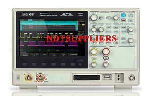Siglent 8 Sds2202 200mhz 2 Ch Digital Oscilloscope 2gsa s 28m Memory Depth