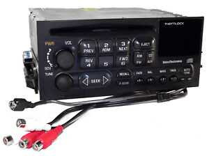 Gmc Chevy 95 02 Truck Mount Am Fm Cd Radio W Aux Mp3 Input Rca Output For Amps