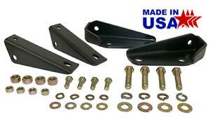 1963 72 Chevy Gmc Truck Rear Shock Relocation Kit For Lowered Trucks