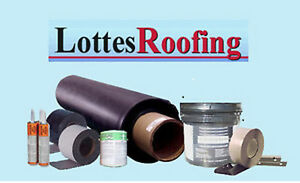 Epdm Rubber Roofing Kit Complete 50 000 Sq ft By The Lottes Companies