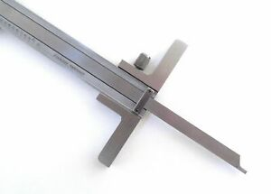 Depth Gauge Attachment For Dial Or Digital Calipers Fits Starrett Mitutoyo