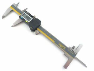 Igaging Absolute 6 150 Mm Digital Calipers Ip54 Stainless Steel W Depth Gauge