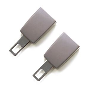 Mini Seat Belt Extension 2 Pack E4 Safety Certified Gray Type A Click