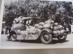 1928 1929 Ford Roadster Full Of Watermelons 12 X 18 Large Picture Photo