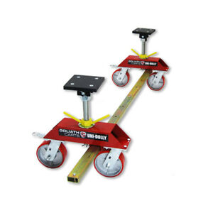 Uni Dolly Car Dolly Portable Adjustable Jack Stand 4800 Auto Collision Repair