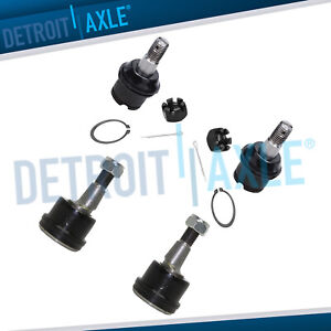 4pc Front Lower Ball Joints For 2003 2011 2012 2013 Dodge Ram 2500 3500 4wd