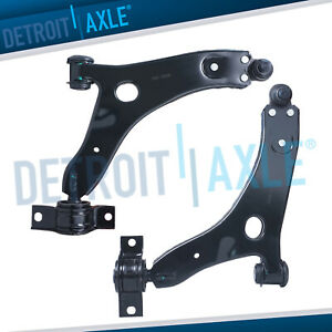 2 Front Lower Control Arms Ball Joints Set For 2005 2006 2007 2011 Ford Focus