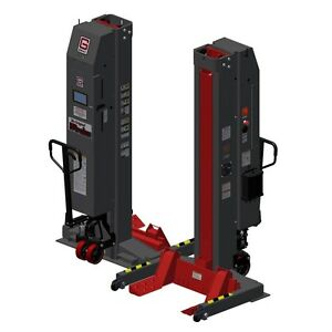 Gray Wpls 185 4 Wireless Portable Lift 74 000lb Capacity us Made