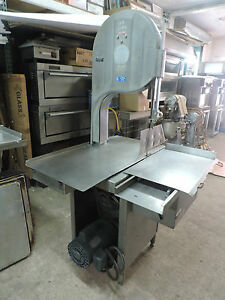 Biro 3334 Used Meat Saw Heavy Duty Cut Slice Meat Bone Chicken Frozen Food
