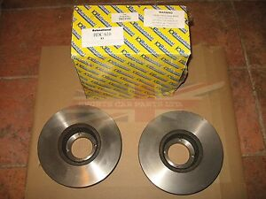 Pair Of New Brake Discs Rotors Triumph Tr8 1979 1981 Made In The Uk