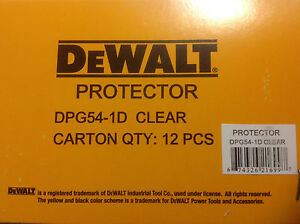 12 Pack Dewalt Dpg54 1d Protector Clear High Performance Safety Glasses