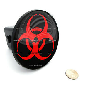 2 Tow Hitch Receiver Plug Cover Insert For Suv S Trucks Zombie Outbreak