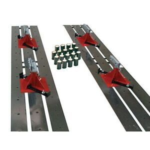 Champ Automotive Drive On Flat Rack Floor System 4014 Includes 18 Anchor Pots