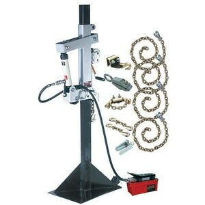 Champ Olympian 10 Ton Pulling Post Starter Kit 8805 P Includes Chains